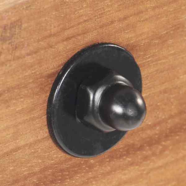 vidaXL Lampă de perete industrială, negru, 90 x 25 cm, E27