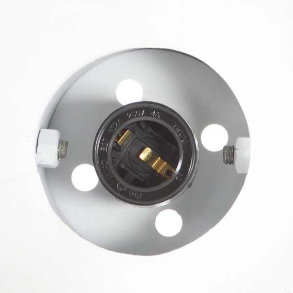 vidaXL Lampă de perete industrială, negru, 65 x 25 cm, E27