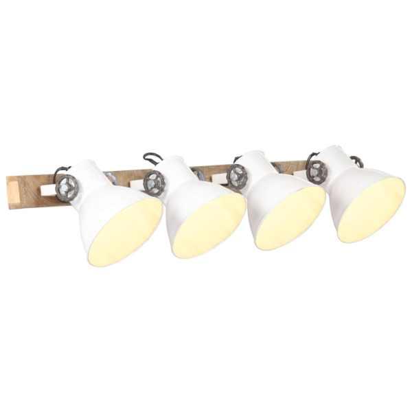vidaXL Lampă de perete industrială, alb, 90 x 25 cm, E27