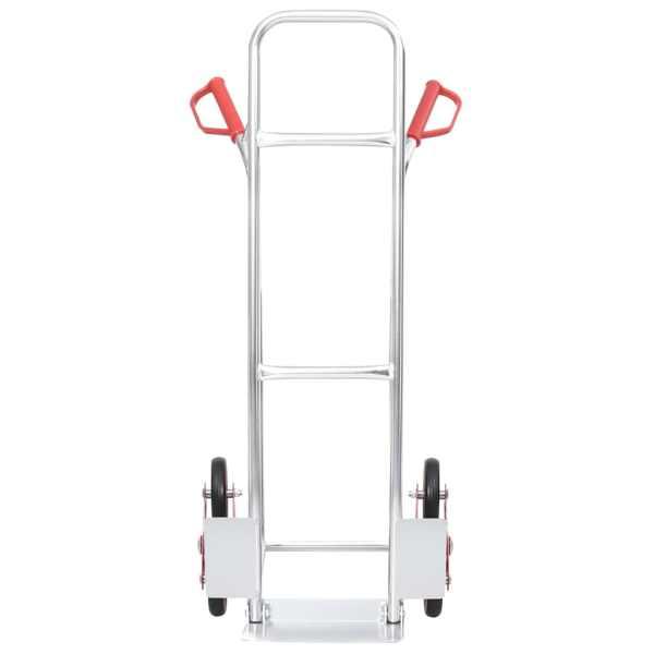 vidaXL Cărucior pentru scări manual, 6 roți, 51×53,5×118 cm, 150 kg