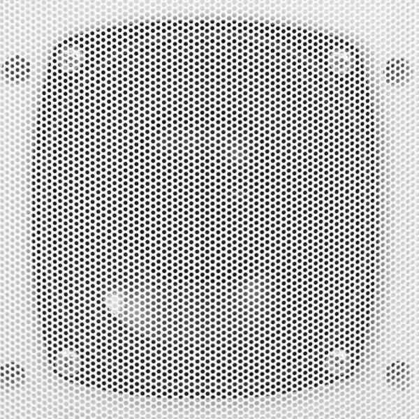 Boxe stereo de perete, interior/exterior, 2 buc., alb, 100 W
