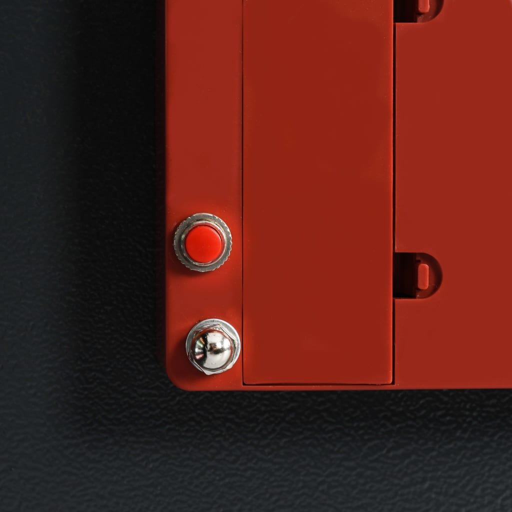 Seif de chei, gri închis, 30 x 10 x 36,5 cm