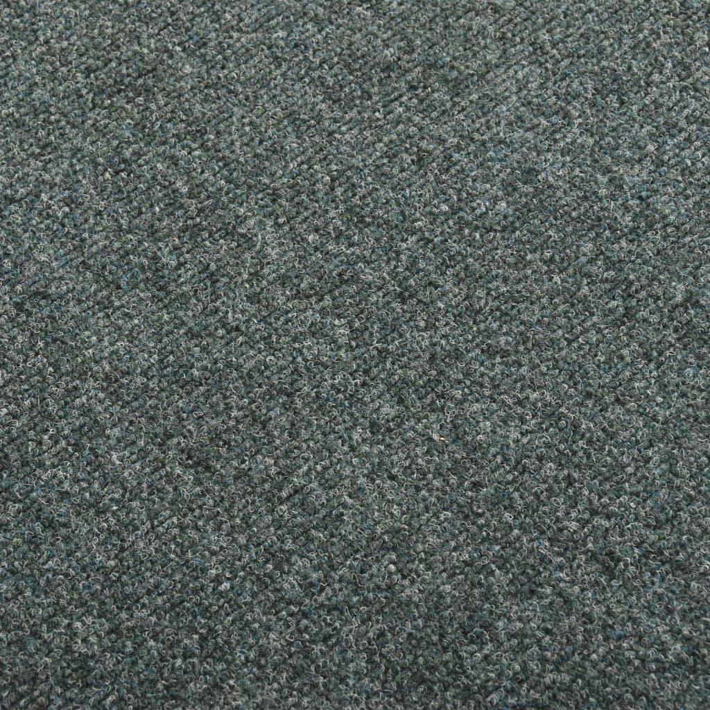 vidaXL Dale mochetă pentru podea, 20 buc., verde, 5 m²