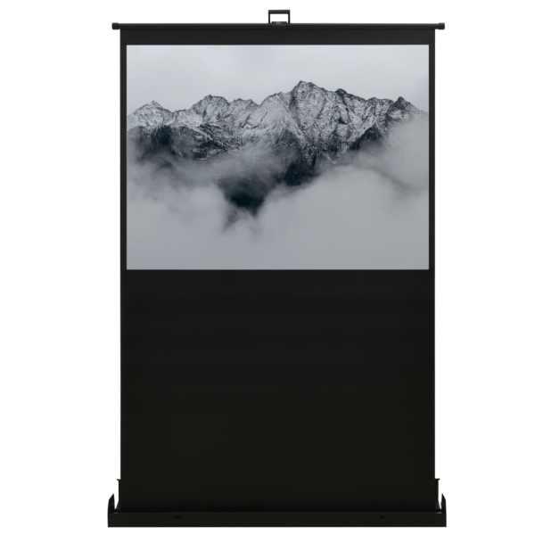 vidaXL Ecran de proiecție cu ridicare pe verticală 55″ 4:3