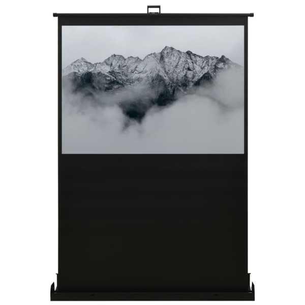 vidaXL Ecran de proiecție cu ridicare pe verticală 55″ 16:9