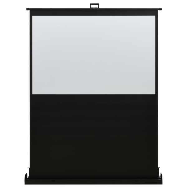 vidaXL Ecran de proiecție cu ridicare pe verticală 72″ 4:3