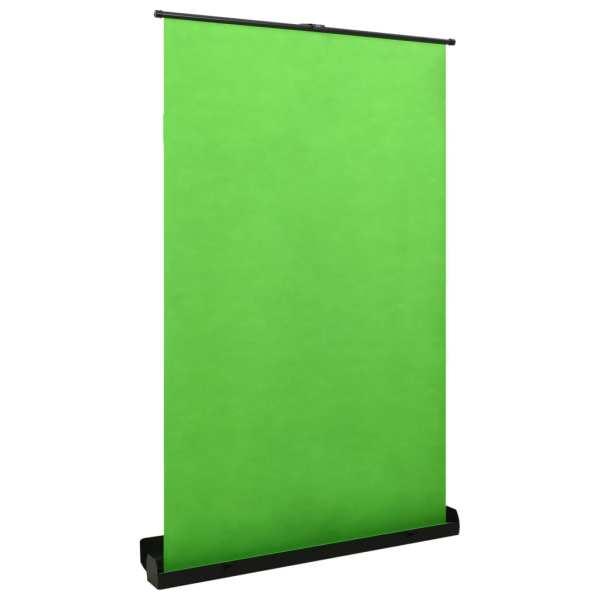 vidaXL Fundal de fotografii, verde, 55″ 4: 3
