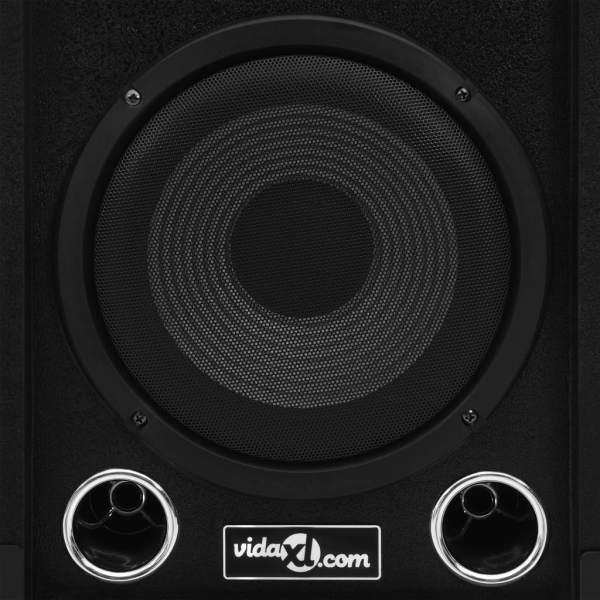 vidaXL Boxe Hifi pasive de scenă profesionale, 2 buc., negru, 800 W