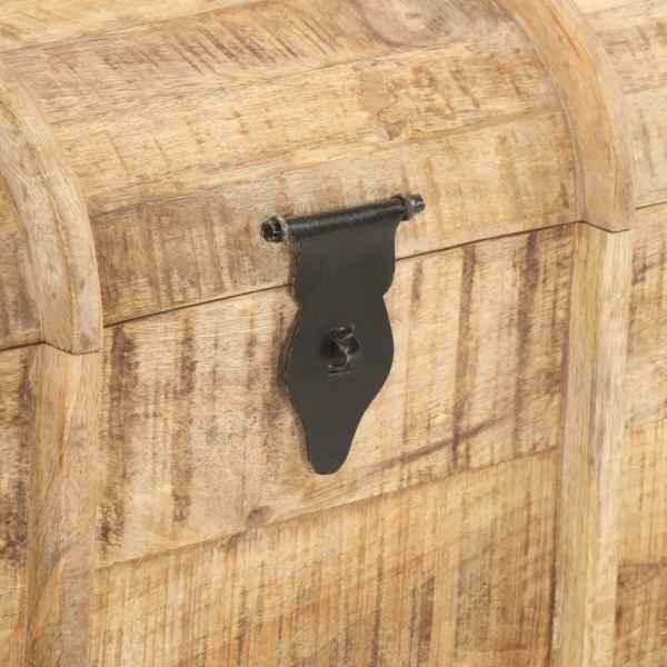 vidaXL Cufere de depozitare, 2 piese, lemn masiv de mango