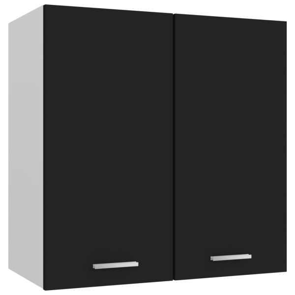 vidaXL Dulap suspendat, negru, 60 x 31 x 60 cm, PAL
