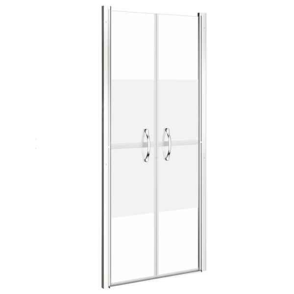 Ușă cabină de duș, jumătate mat, 101 x 190 cm, ESG