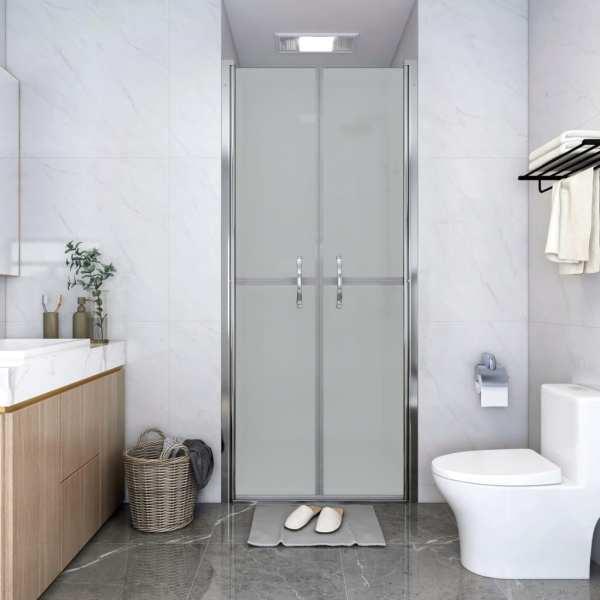 vidaXL Ușă cabină de duș, mat, 86 x 190 cm, ESG