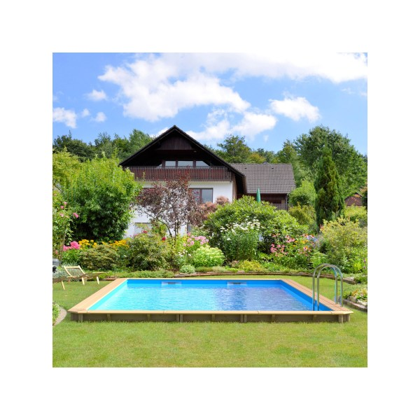 piscine bois odyssea rectangle 8x4 ambiance 2