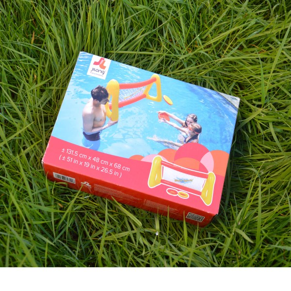 jeu de water polo freesbee gonflable