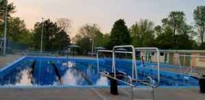 2018 Valois Pool Getting Ready