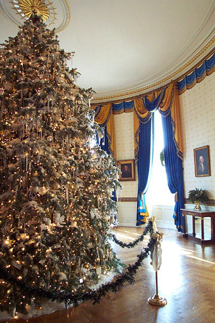 White House Blue Room : white, house, Melania, Trump, Unveils, Restored, Bellange, Suite,, Displayed, White, House's, Before, Christmas, MEAWW