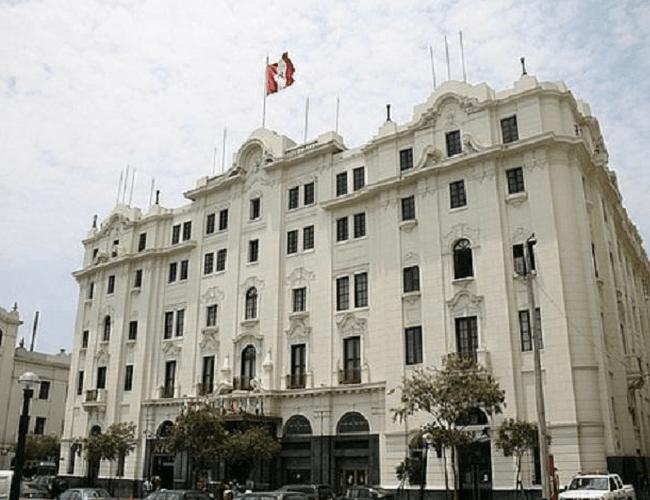 Hotel antiguo en Lima