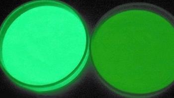 Caractérisation de produits phosphorescents