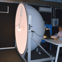 laboratoire piseo sphere mesure flux