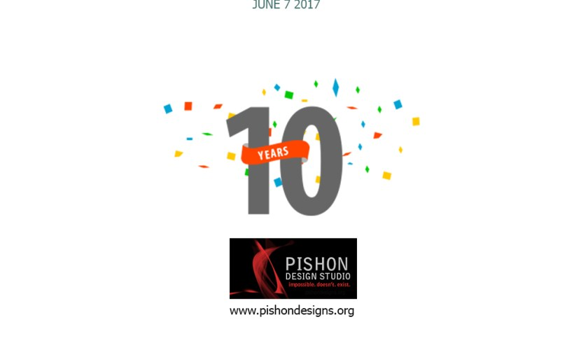 pishon design studio celebrates 10 years