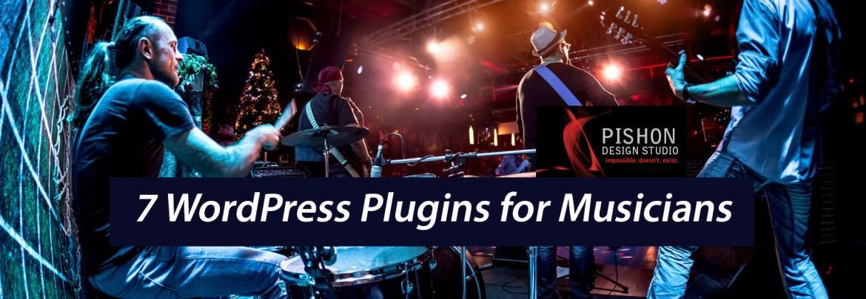 7 WordPress Plugins for Musicians