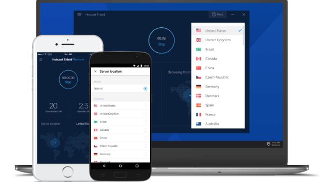 Hotspot Shield - Top VPN services 2019