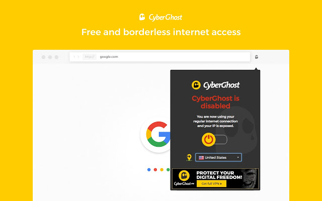 top VPN services 2019 - cyberghost