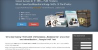 12590+ Digital PLR Products For Rebrand!