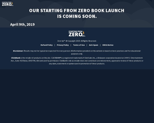 Starting From Zero Audiobook By Fred Lam – Lifetime Commission!