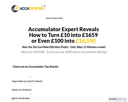 New! Accatipster – This Year's Hottest Accumulator Offer!