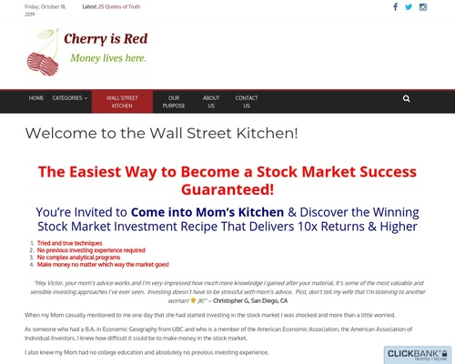 The Easiest Way To Become A Stock Market Success Guaranteed!
