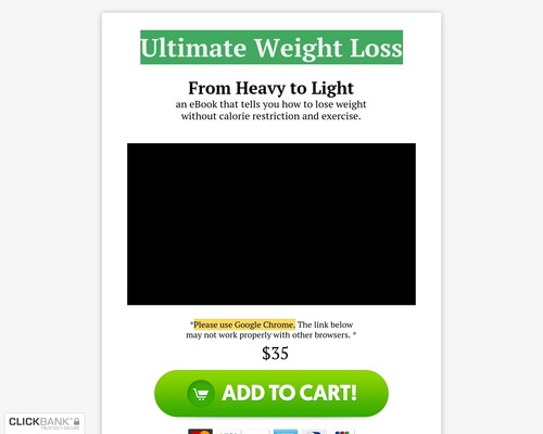 Ultimate Weight Loss – A Physiology Based Method