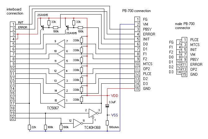 circuit diagram of a calculator