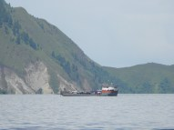 Ferry bermuatan kendaraan