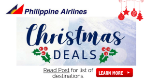 Philippine Airlines Christmas Deals Promo