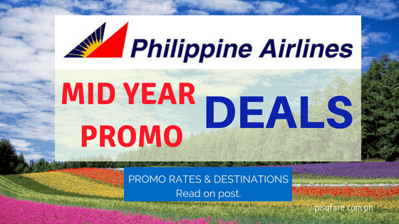 philippine airlines mid year deals promo fare 2018