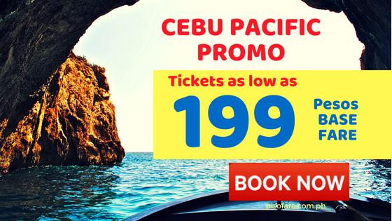 promo fare ticket sale of cebu pacific