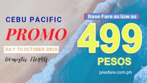 cebu pacific 499 pesos 2019