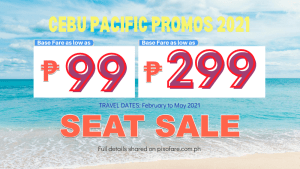cebu pacific promos 2021 february to may