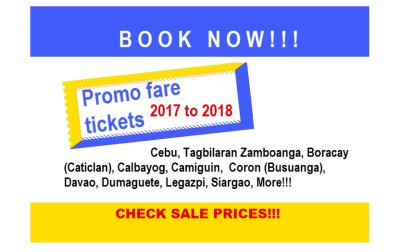 Airlines Promo Fare from November 2017 to March 2018