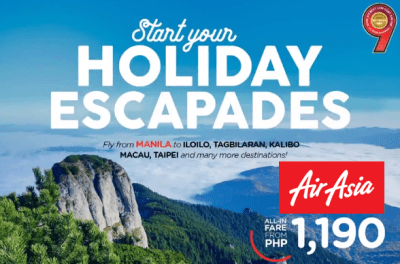 Air Asia Promo 2017 to 2017 Davao, Tacloban, Palawan, Hong Kong MORE