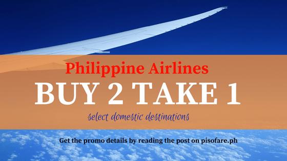 philippine airlines promo fare buy 2 take 1