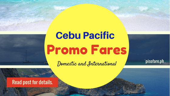 2018 domestic international promo cebu pacific