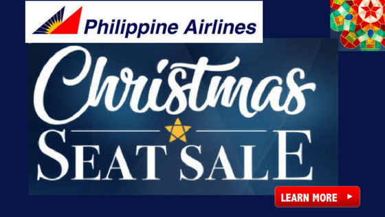 Philippine Airlines Christmas Seat Sale