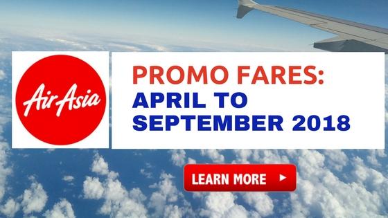 airasia philippines promo fares 2018