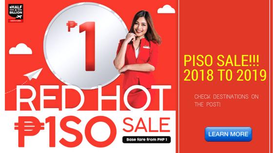 Piso sale 2018 t0 2019
