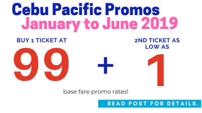 cebu pacific seat sale piso fare 2019