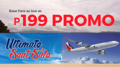 Philippine Airlines Ultimate Seat Sale 2018 to 2019 Flights
