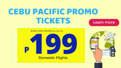 cebu pacific 199 promo fare tickets