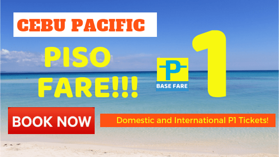 cebu pacific piso fare ticket promo 2019